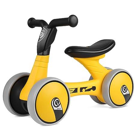 BAMNY Bicicleta sin pedales, quadriciclo sin pedales para niños de entre 1 y 3 años