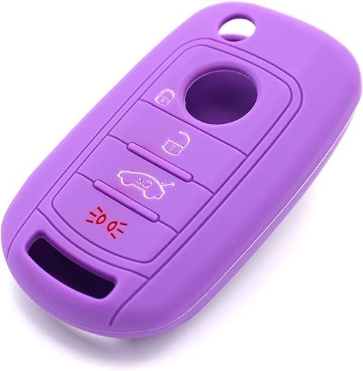 Schlüssel Hülle Fic Für 4 Tasten Auto Schlüssel Silikon Elektronik