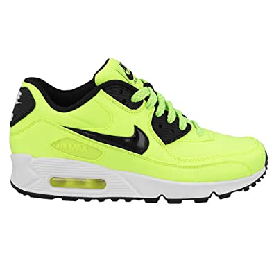 Nike Air Max 90 FB (GS) Schuhe volt black electric green liquid lime 39