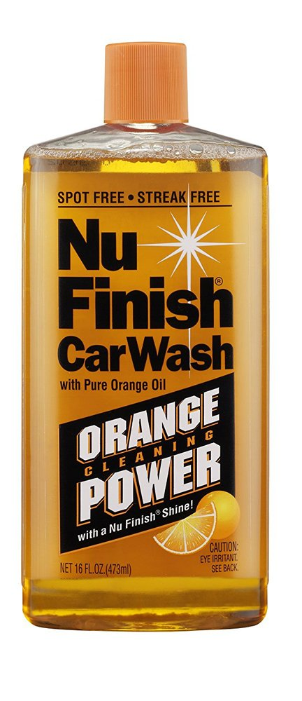 Nu Finish Car Wash Concentrate (16 oz) - Pack of 6