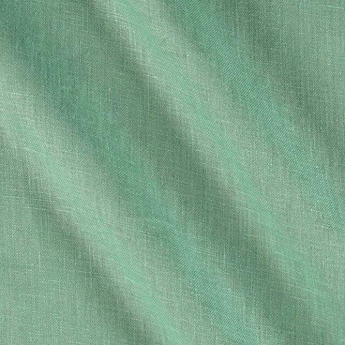 European Linen Fabric (European 100% Washed Linen Aqua Fabric By The Yard)