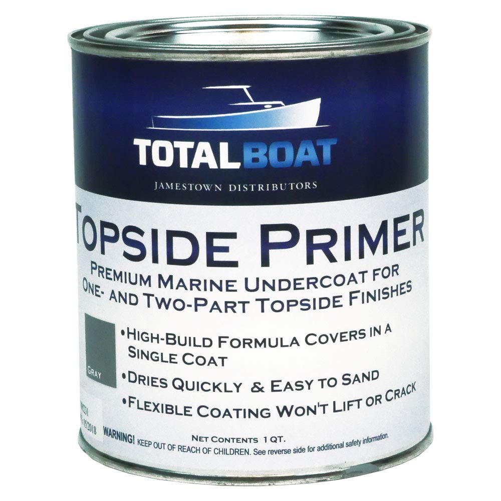 TotalBoat Topside Primer (Gray, Quart)