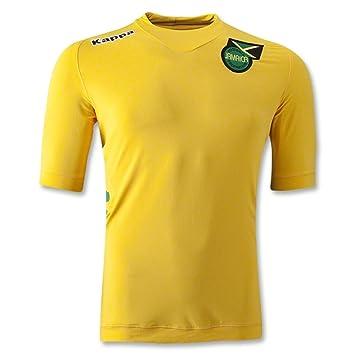 huge discount 680e4 85295 2012-13 Jamaica Home Kappa Football Shirt, Jerseys - Amazon ...