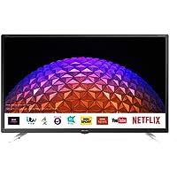 Sharp 2T-C32BG3KG2FB 32 Inch Full HD LED Smart TV with Freeview Play, 3 x HDMI, 2 x USB, Scart, USB Record