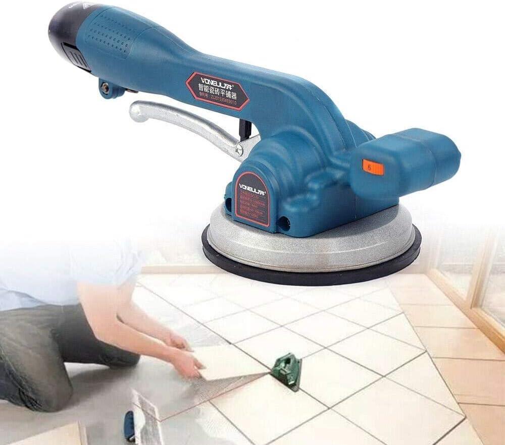 Ladeger/ät Automatische Fliesenwerkzeug,Wiederaufladbarer Fliesenleger Tile Tiling Tool,Handheld Auto Leveling Fliesenleger Fliesen Maschine 30-100cm