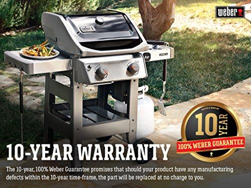 Weber 44010001 Spirit II E-210 Black LP Outdoor Gas Grill