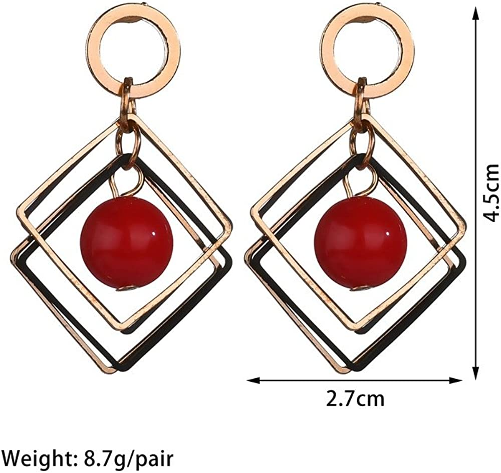 Fashionable Hollowed Golden Evil Eye Stud Earrings Geometric Style The Bling Store