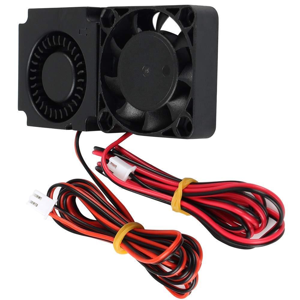 Ventilador 4010 de 24 V para extrusora de impresora 3D Ender 3, ventilador de refrigeración 40 mm x 40 mm x 10 mm, turbo hidráulico con cable XH2.54-2P, 2 unidades Eewolf