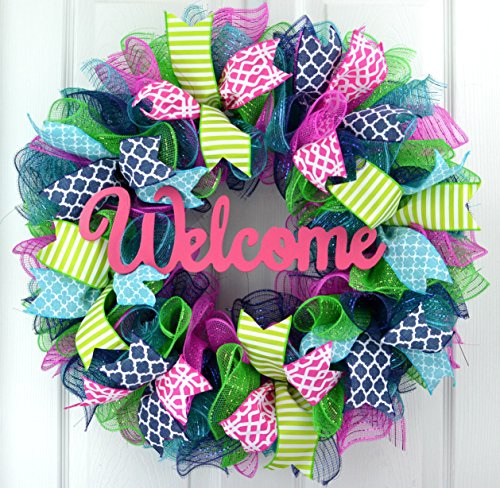 Everyday Door Wreath | Summer Spring Wreath | Outdoor Wreath