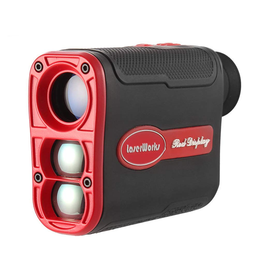 Golf Range Finder Laser 6X Zoom Outdoor Portable 800m for Wild Hunting Golf Measurement Carry Pouch Included by Rayuwen