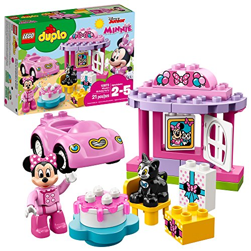 LEGO DUPLO Minnie's Birthday Party 10873 Building Blocks (21 Piece) (Best Toys For 7 Yr Old Girl)