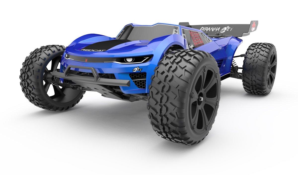 Blue PIRANHA-TR10 Redcat Racing Piranha-XTR-10 Piranha TR10 Truggy