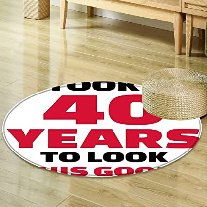 Amazon Area Silky Smooth Rugs 40th Birthday Decorations Forty