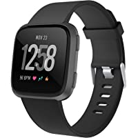 Adepoy for Fitbit Versa Bands, Soft TPU Replacement Versa Strap Compatible with Fitbit Versa/Versa Lite/Versa Special Edition/Versa 2, Women Men Small Large