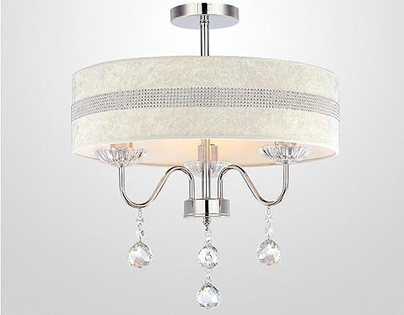 Moderne suspension cristal lumières lampe suspendue pour salon