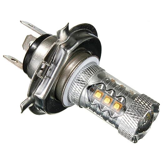 2 opinioni per Sannysis® Bianco 80W H4 9003 HB2 CREE LED DRL della nebbia 12V lampadina faro