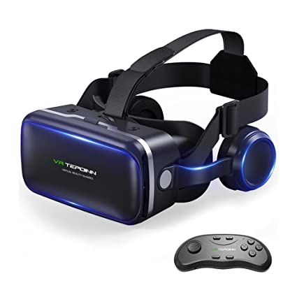 b82674f11e77 Amazon.com  Tepoinn Vr Headset with Remote Controller
