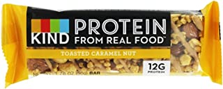 product image for KIND, PRTN BAR, TSTD Caramel NUT, Pack of 12, Size 1.76 OZ - No Artificial Ingredients Gluten Free Wheat Free Yeast Free