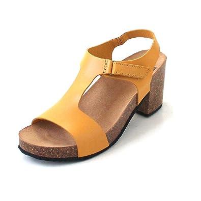 13cb1ae8f70d9b Dr.Scholl ARACENA Sandale Femme Marron Cuir 36: Amazon.fr: Chaussures et  Sacs