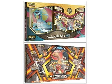 Amazon.com: Pokémon Dragon Majesty Salamence GX Box and ...