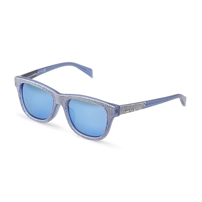 Diesel DL0111 Gafas de sol Unisexo Azul NOSIZE: Amazon.es ...