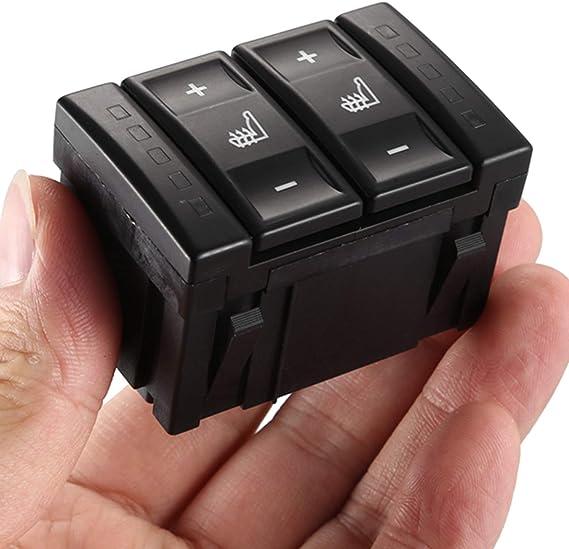 Moligh Doll Für Ford Mondeo Mk3 Mk4 S Max Elektrische Sitzheizung Schalter W Rmeschalter 6m2t 19k314 Ac Bs7t 19k314 Ab Schwarz Auto