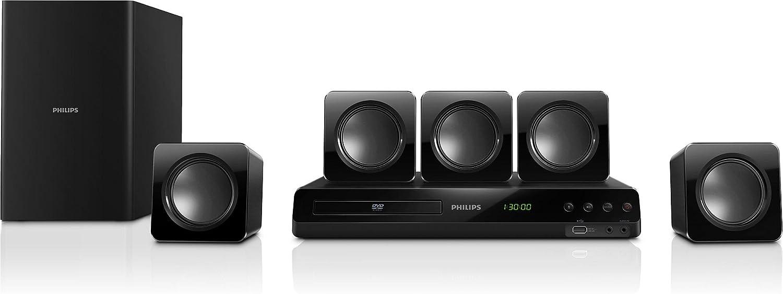 Philips HTD3510 - Equipo de Home Cinema 5.1 (300 W, HDMI, USB ...