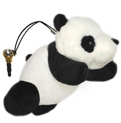 Amazon Com Lucore Mini 4 Happy Panda Cub Plush Stuffed Animal Toy