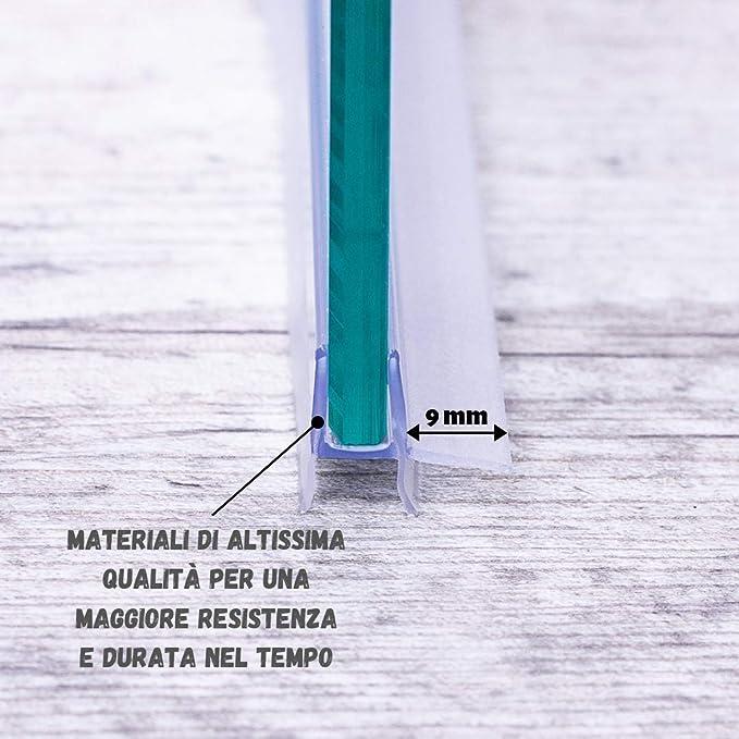 IEGAR - Junta de 100cm para mampara de ducha de 4 mm/5 mm/6 mm ...