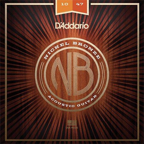 【10セット】D'Addario ダダリオ NB1047 ニッケルブロンズ Extra Light アコースティックギター弦   B01CL3B21O