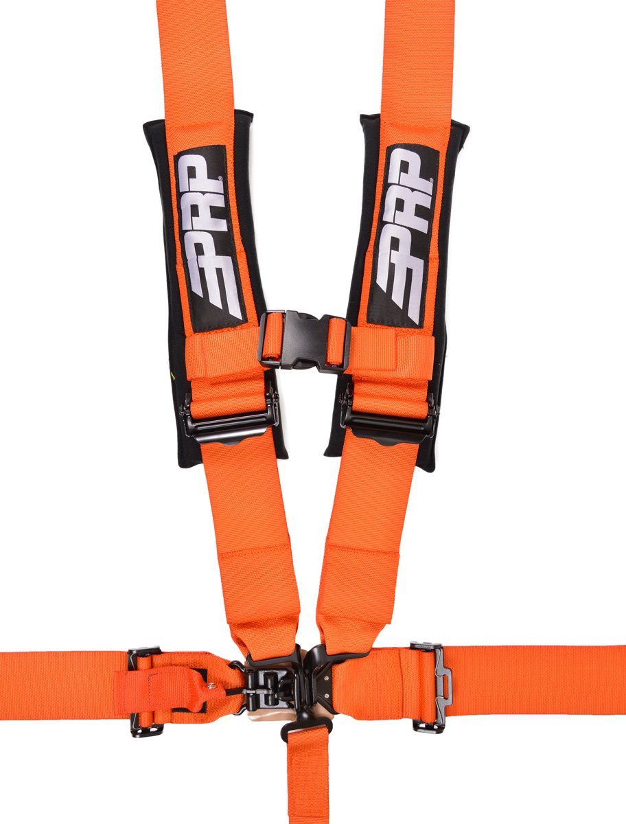 PRP Seats SB5.3O 5.3 Orange 3'' Seat Belt Harness