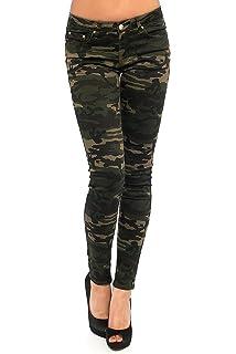 OSAB Fashion 11418 Damen Jeans Röhrenjeans Hose Stretch