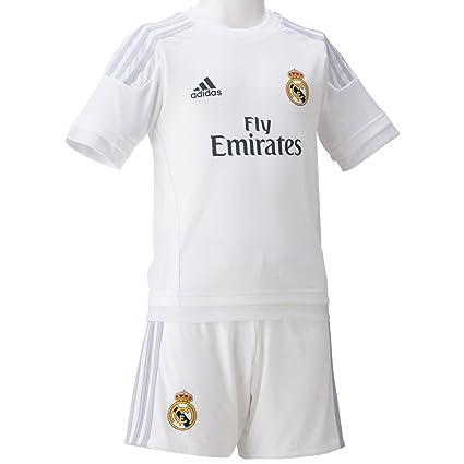 5cb882d1176 adidas 2015 16 Real Madrid CF Home Mini Kit  White  (2T)
