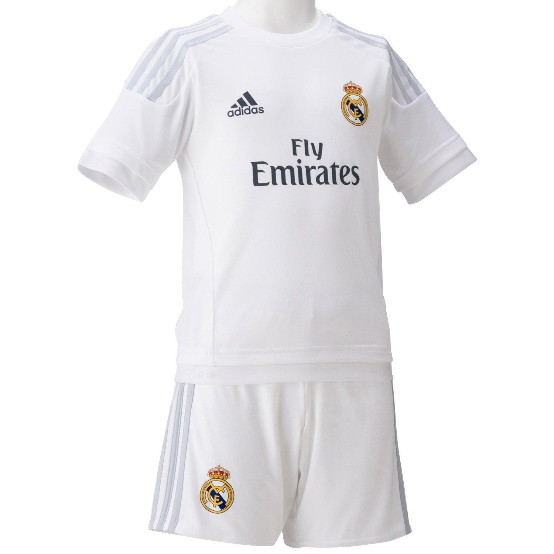 Adidas 2015 2016 Real Madrid Home Mini Kit
