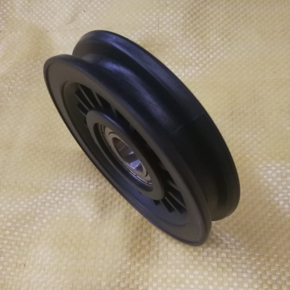 winomo Rad Universal Riemenscheibe Auswirkungen von 90/mm f/ür die Ersatzteil Ausr/üstung von Form-K/örperliche Fitnessraum