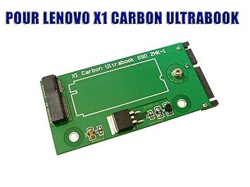 KALEA INFORMATIQUE - Adaptador SSD a SATA para Lenovo X1 (para ...