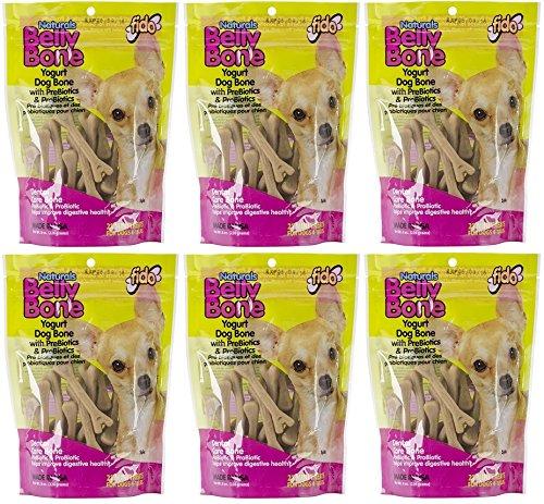 Belly Bone Yogurt Dog Bone - Mini 21 pack (Pack of 6)