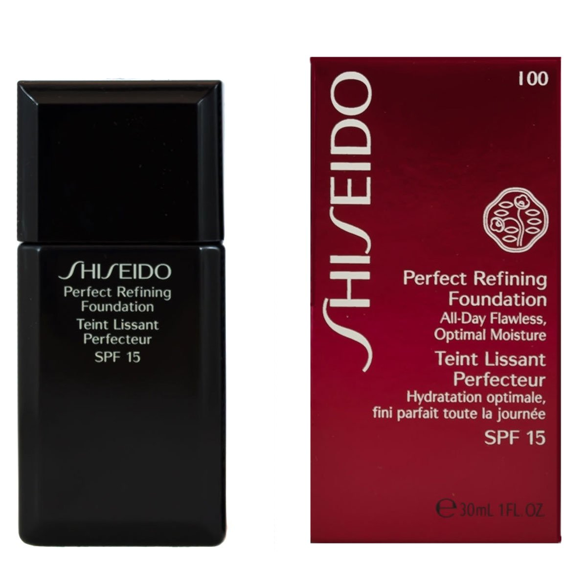Shiseido Shiseido Perfect Refining Foundation - Very Light Ivory, 30 ml