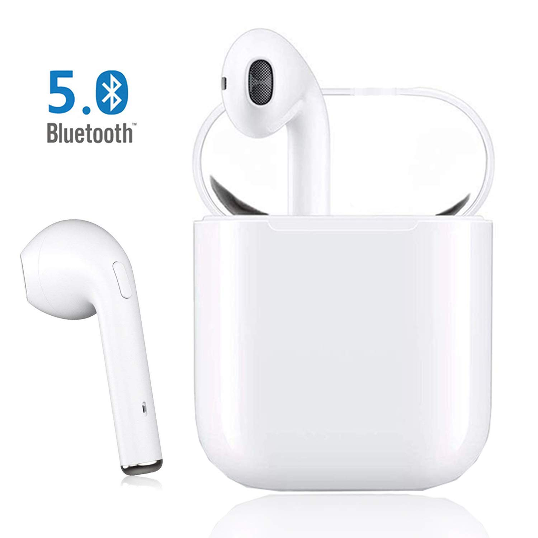 Auriculares inal/ámbricos en el o/ído micr/ófono est/éreo Integrado en Manos Libres para Apple Airpods Android//iPhone Auriculares Bluetooth