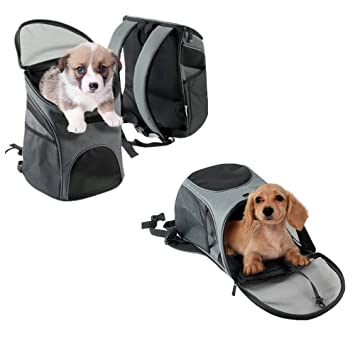 8fdb0cdf3f Zodae Deluxe Pet Carrier Backpack Perfect for Small Dogs and Cats,Multiple  Air Vents Waterproof