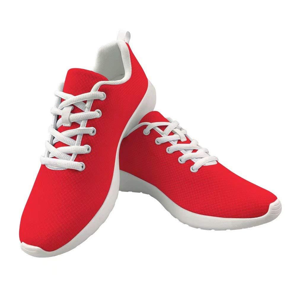 Dellukee Fashion Shoes for Women Men 2019 Black Casual Non Slip Wide Width Sneakers