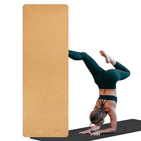 Ruosai Corcho + TPE/Goma Estera de Yoga - Estera de ...