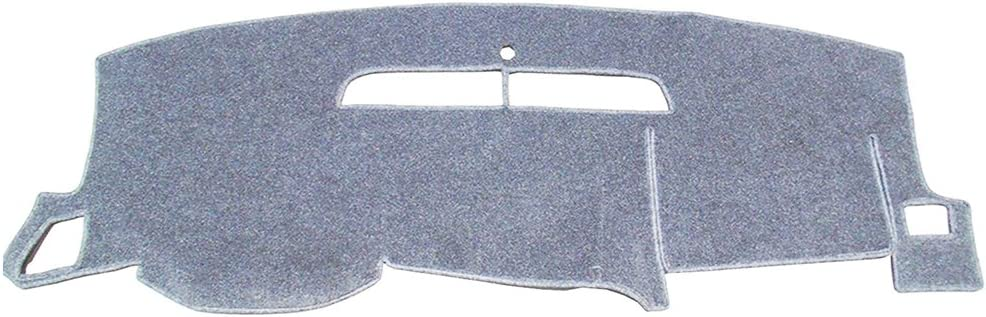 Black Hex Autoparts Dash Cover Mat Dashboard Pad for 2008-2013 Chevy Silverado LT HD WT 4x4
