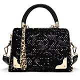 Women Handbags,Toponly Women Sequin Leopard Messenger Cross Shoulder Bag Handbag Purse For Party
