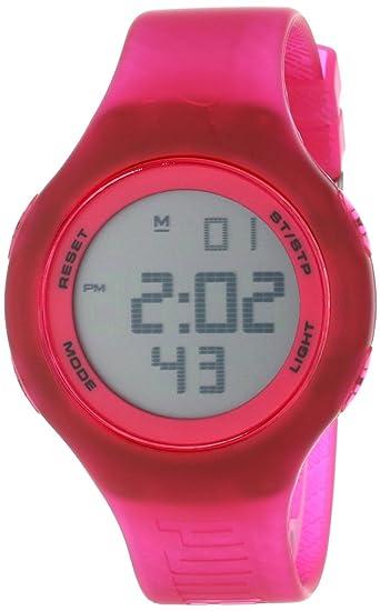 Plástico Puma Reloj Digital Time De CuarzoUnisexCorrea orCBdexW