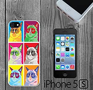 Grumpy Cat Pop Art Custom made Case/Cover/Skin FOR iPhone 6 4.7 -White- Rubber Case (Ship From CA)