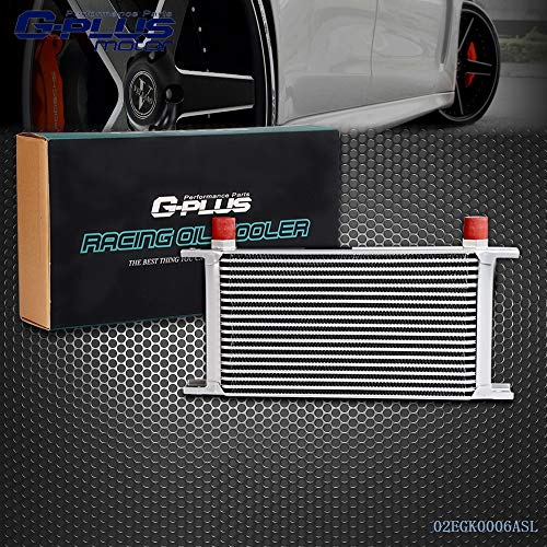 19 ROW AN10-10AN Universal Engine Transmission Aluminum Oil Cooler -