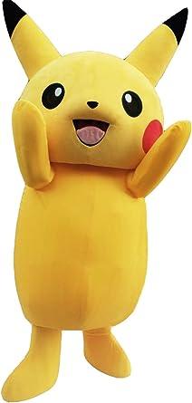 zyz Pikachu mascota disfraz Pikachu disfraz: Amazon.es: Ropa y ...