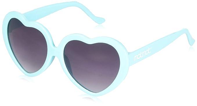 687c16dc127e Amazon.com: Blue Heart Shaped Sunglasses for Kids, Children, Baby ...
