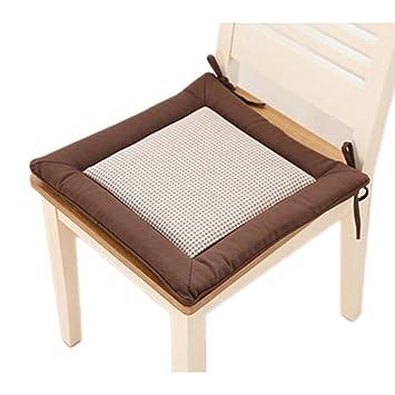 Amazon.com: Tatami cojín de silla japonés decente oficina ...